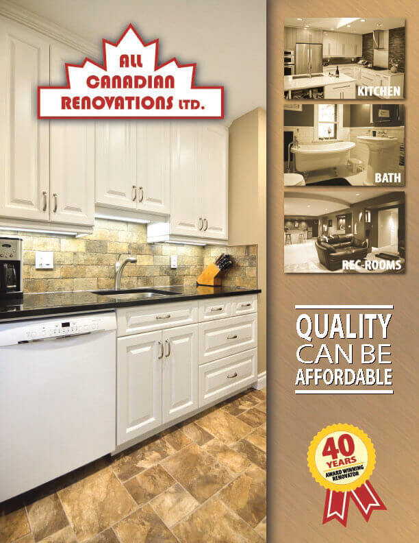 AllCanadianBrochure - All Canadian Renovations Ltd. - Basement Renovations Winnipeg, Manitoba