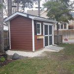 Garden Shed on Kimberly Avenue, Winnipeg - Exterior Home Renovations Winnipeg - All Canadian Renovations Ltd.