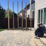 Tweedsmuir Privacy Wall - All Canadian Renovations Ltd. - Winnipeg Bathroom Renovations