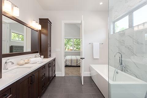 Types of bathroom renovations – powder room, three-piece bathroom, four-piece bathroom, and ensuites - Winnipeg Bathroom Renovations - Certified Aging-in-Place Renovators Winnipeg - All Canadian Renovations Ltd.