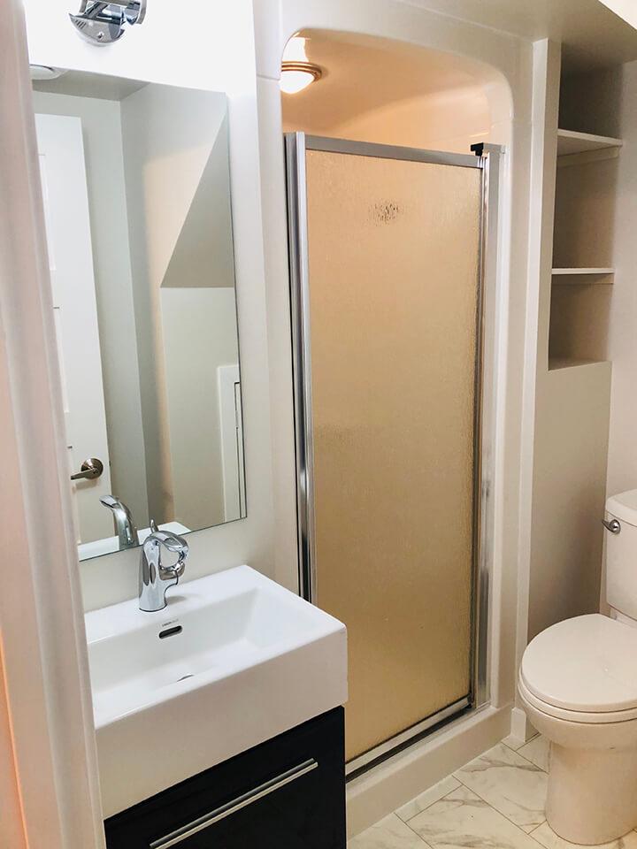 Ronald Bathroom Renovation - Bathroom Renovations Winnipeg - All Canadian Renovations Ltd.