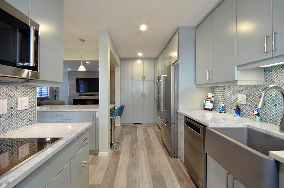 Columbus Kitchen Renovation - Winnipeg Kitchen Renovations - All Canadian Renovations Ltd.