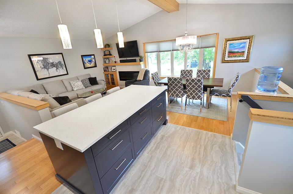 Sundial Whole Home Renovation - Whole Home Renovations Winnipeg - Winnipeg Kitchen Renovations - All Canadian Renovations Ltd.