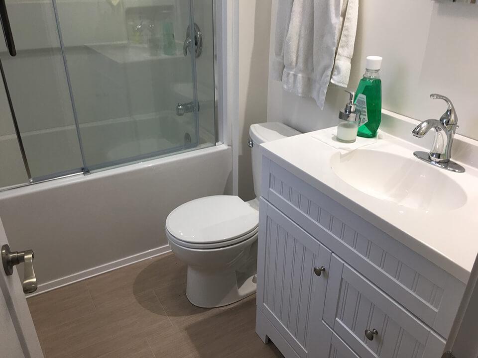 Magnus Bathroom Renovation - Bathroom Renovations Winnipeg - All Canadian Renovations Ltd.