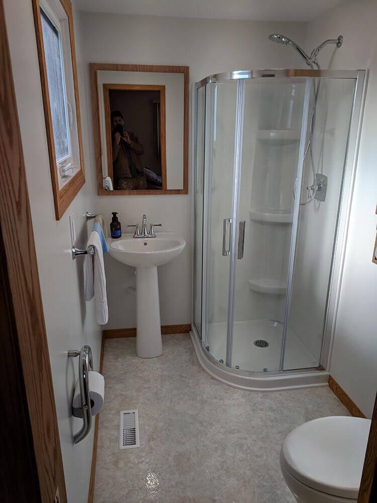 Corbett Bathroom - All Canadian Renovations Ltd. - Winnipeg Bathroom Renovations