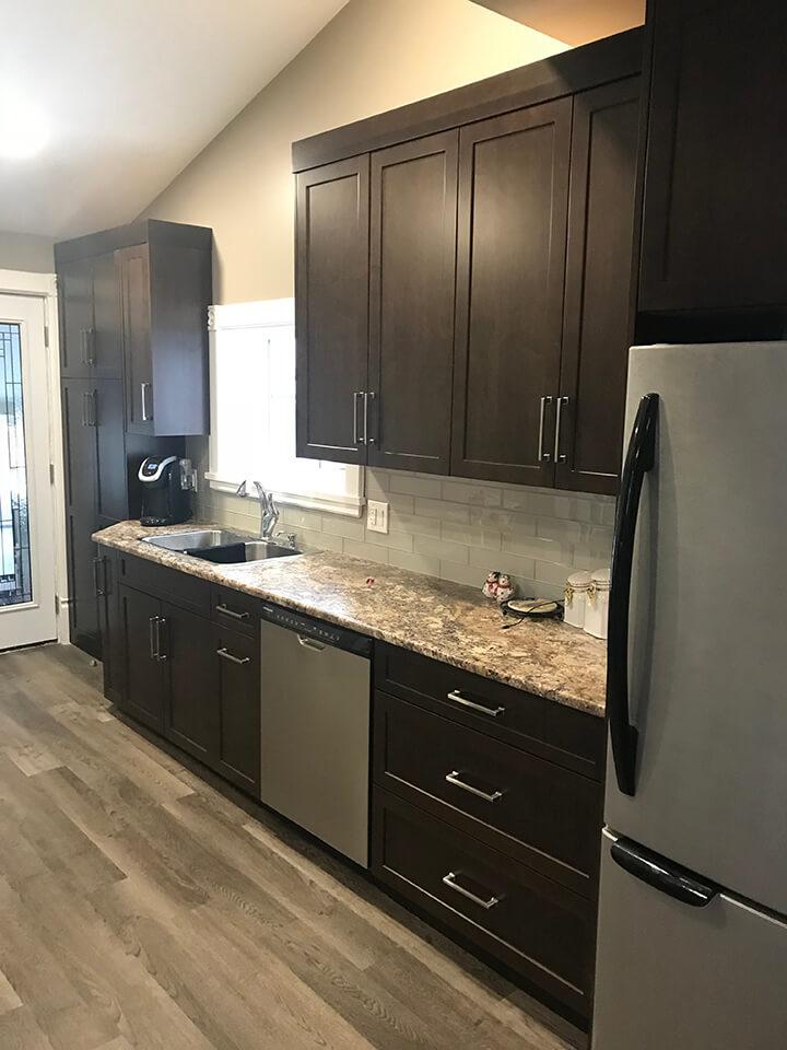 Vaughan Kitchen Renovation - Winnipeg Kitchen Renovations - All Canadian Renovations Ltd.