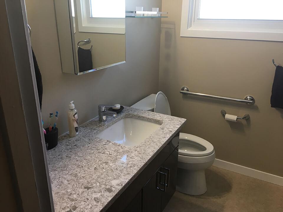 Garrioch Bathroom Renovation - Bathroom Renovations Winnipeg - All Canadian Renovations Ltd.